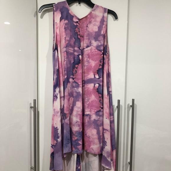 Tiger of Sweden Dresses & Skirts - Tie dye Hi-low dress
